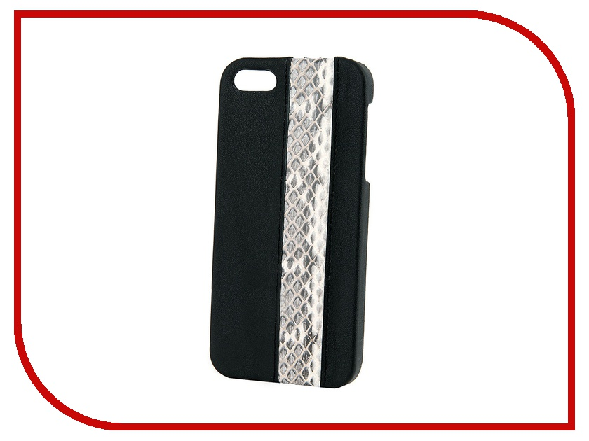 Аксессуар Чехол Ice Mile for iPhone 5 MSK-IP500019 кожаный<br>