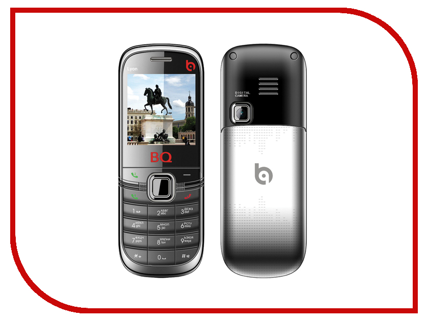 Сотовый телефон BQ BQM-1402 Lyon Black