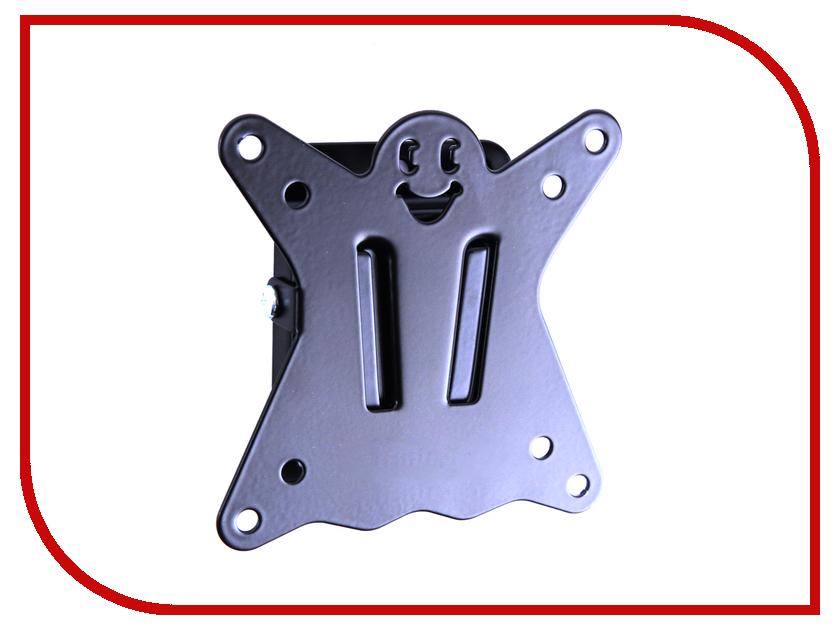 Кронштейн Kromax CASPER-100 (до 25кг) Black кронштейн для тв kromax casper 204 white