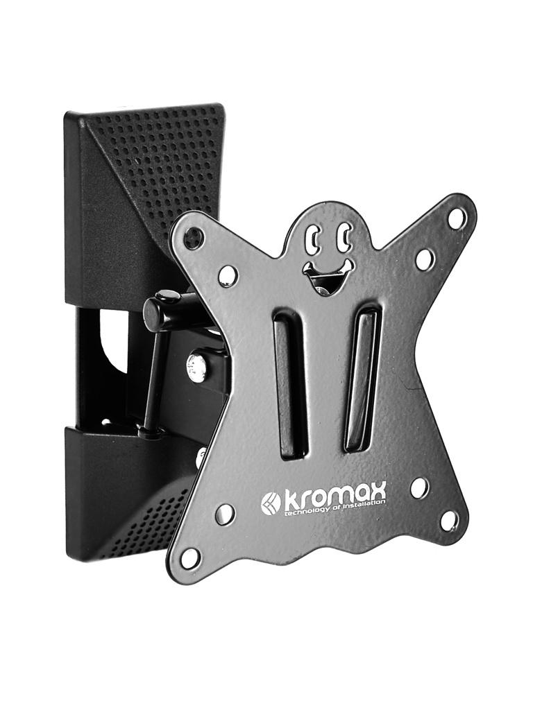 Фото - Кронштейн Kromax CASPER-102 (до 15кг) Black кронштейн kromax casper 204 черный