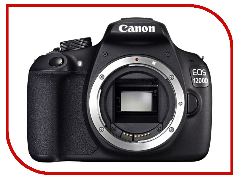 Фотоаппарат Canon EOS 1200D Body сумка easycover discovered canon eos 1200d