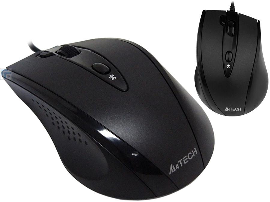 Мышь A4Tech N-770FX Black