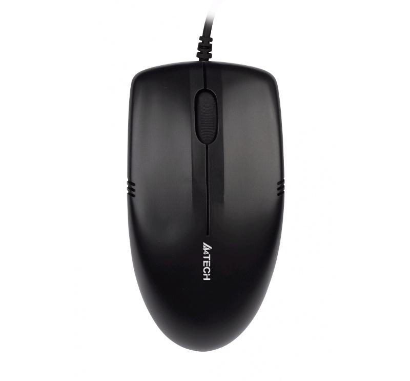 Мышь A4Tech OP-530NU Black