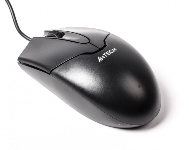 Мышь A4Tech OP-550NU Black