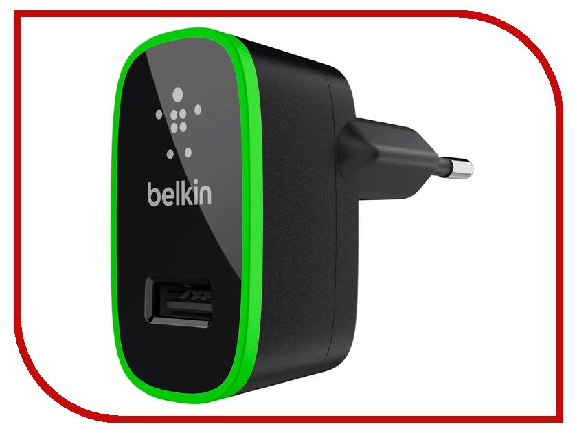 Зарядное устройство Belkin Home Charger F8J052cwBLK Black belkin wemo