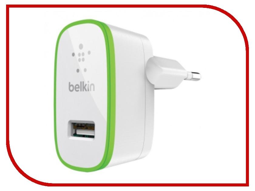 Зарядное устройство Belkin Home Charger F8J052cwWHT White belkin wemo