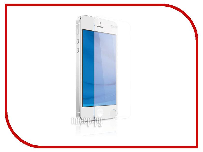 Аксессуар Стекло закаленное DF iSteel-02 для iPhone 5 / 5S / SE / 5C / аксессуар закаленное стекло df isteel 06 для iphone 6
