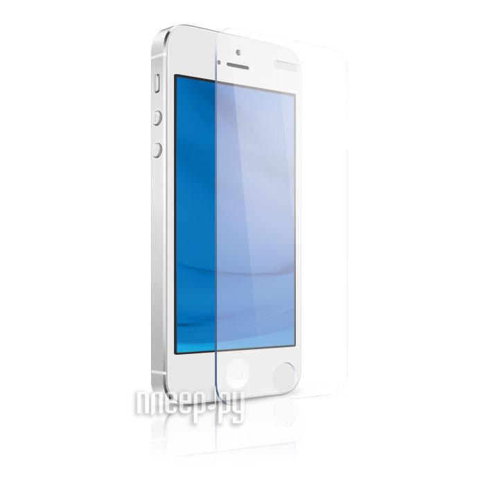 Стекло закаленное DF для iPhone 5 / 5S SE 5C iSteel-02