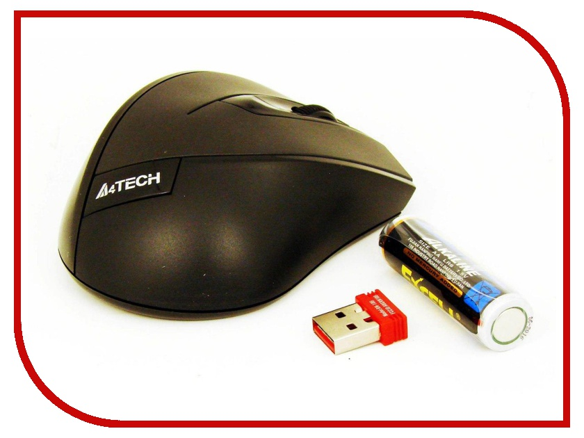 Мышь беспроводная A4Tech G7-600NX-1 USB Black<br>