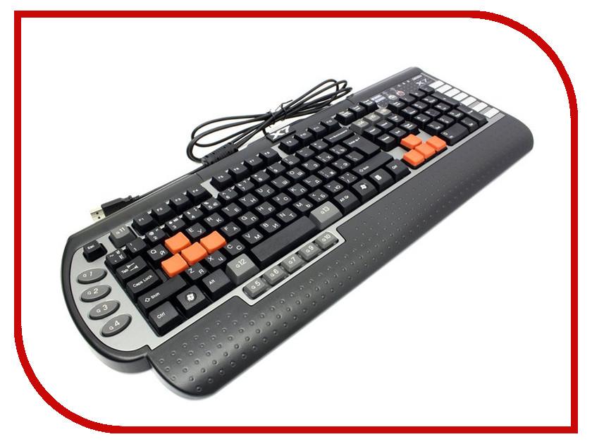 Клавиатура A4Tech X7 G800V / G800 USB клавиатура a4tech kls 7muu