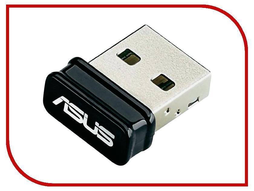 Wi-Fi адаптер ASUS USB-N10 Nano беспроводной usb адаптер asus usb n10 nano 802 11n 150mbps 2 4ггц