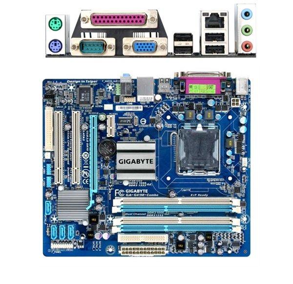 Материнская плата GigaByte GA-G41M-COMBO / GA-G41M-COMBO-GQ