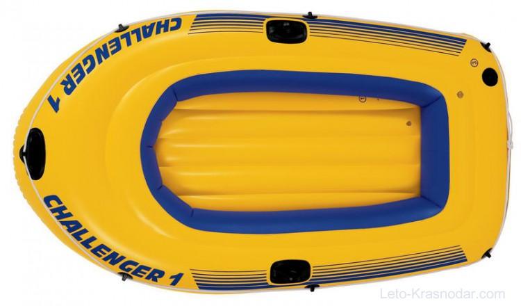 Лодка Intex Challenger 1 68365 цена