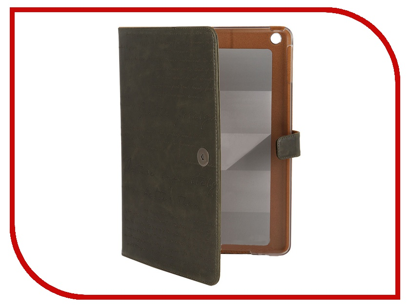 Аксессуар Чехол Zenus Masstige Lettering Diary for iPad Air 10 Deep Khaki