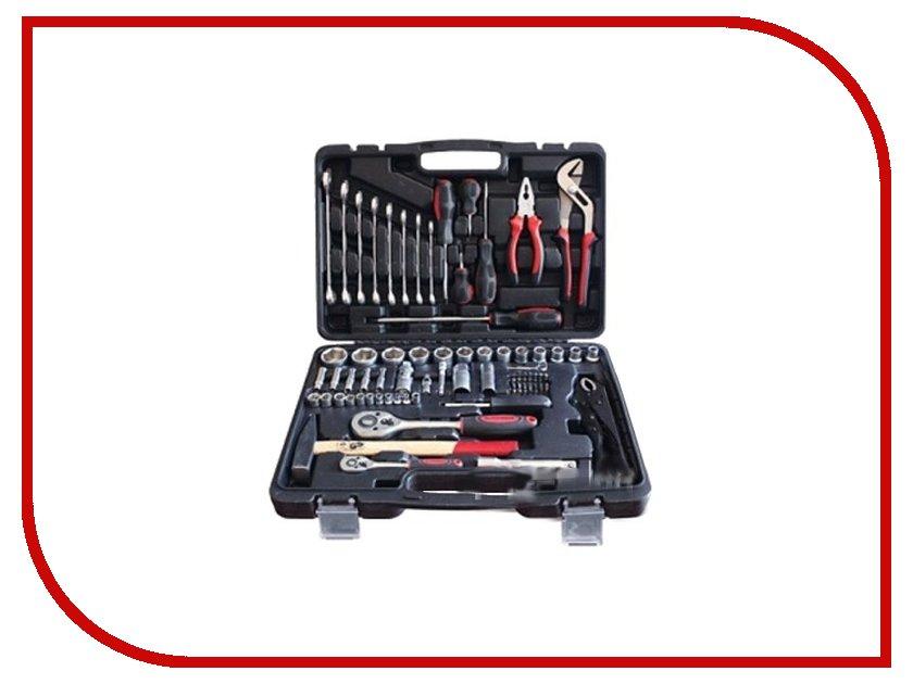 Набор инструмента Autovirazh AV Steel AV-011072 домкрат autovirazh av 076002 2т blue