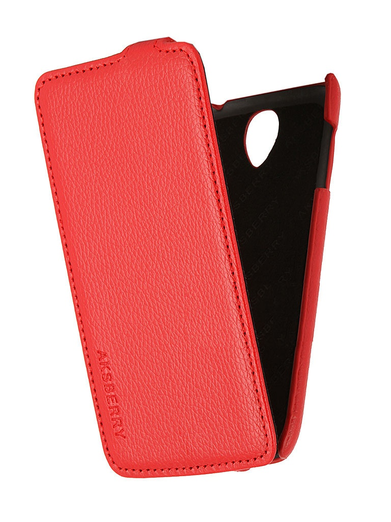 Аксессуар Чехол Lenovo S650 Aksberry Red от Pleer