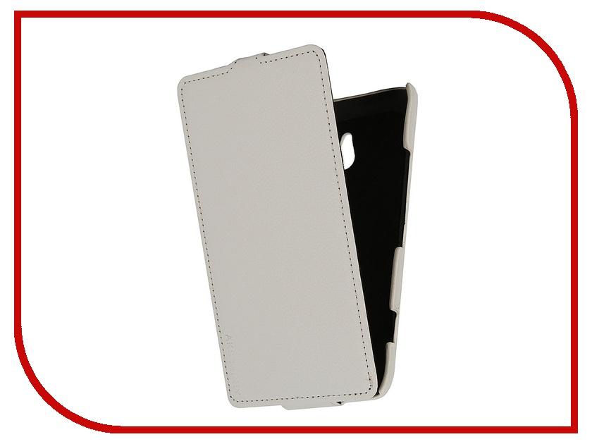 Аксессуар Чехол Nokia Lumia 1320 Aksberry White<br>