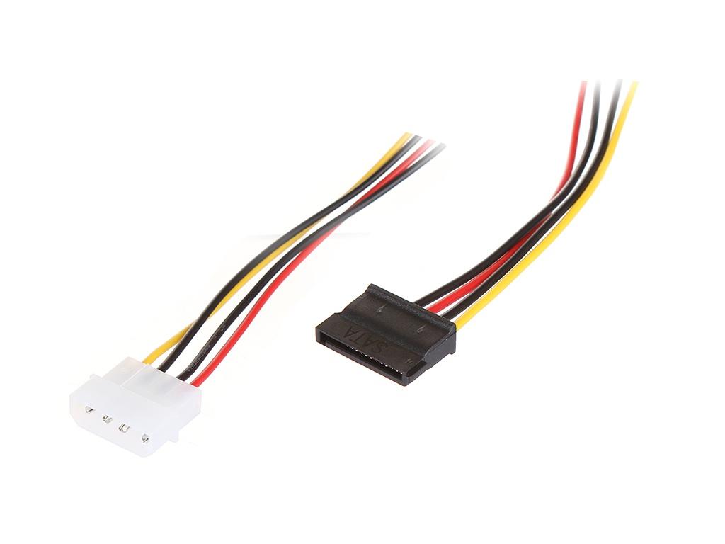 Аксессуар Greenconnect SATA MOLEX 4pin-SATA 15pin 0.15m GC-ST203