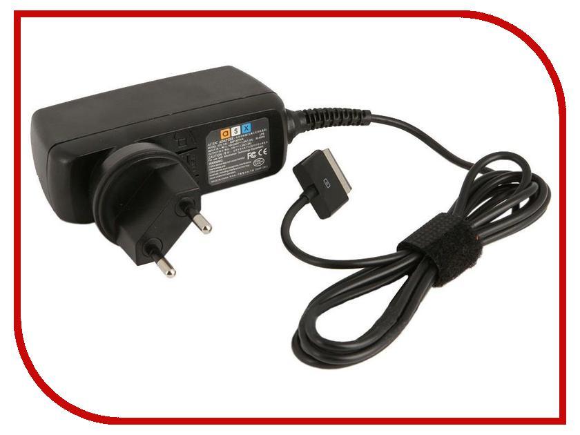 Аксессуар Зарядное устройство сетевое ASUS Tablet PC Eee Pad TF100/TF101/TF200/TF201/TF300/TF301 ASX 15V 1.2A SM000274<br>
