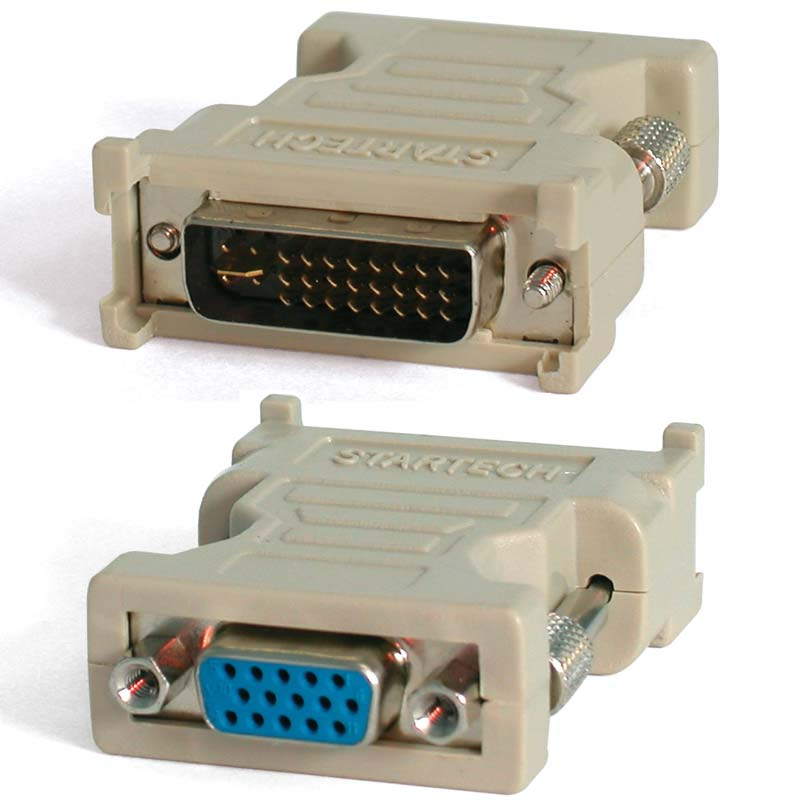 Аксессуар Greenconnect DVI-I - VGA 29M/15F GC-CV103 аксессуар vention dvi i 24 5 m vga 15f dv380vg
