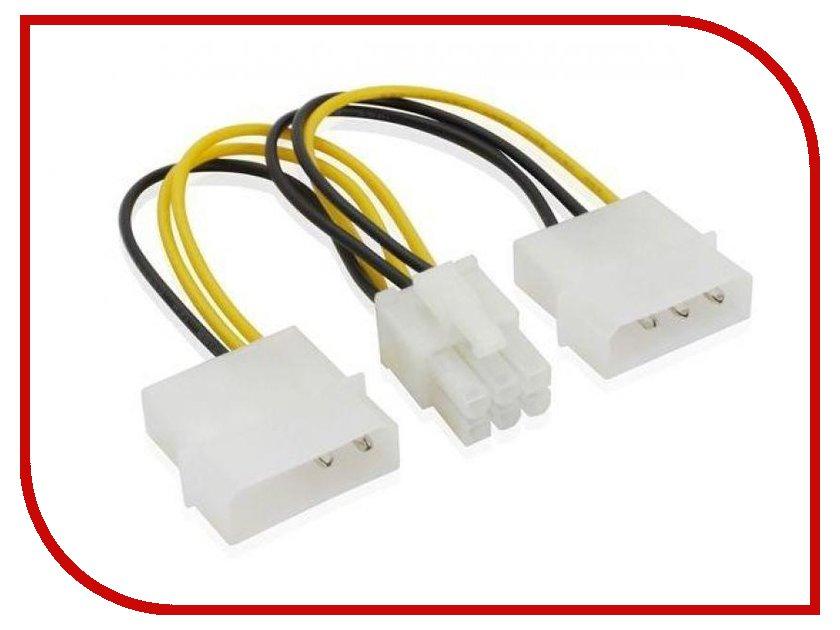 Аксессуар Greenconnect SATA ATX PL4-Molex 2x4 Mole GC-ST215