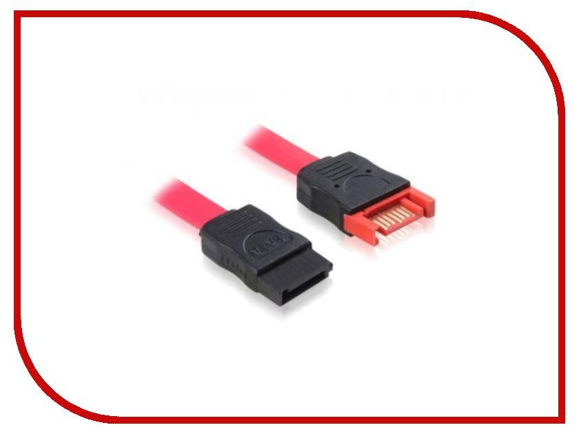 Аксессуар Greenconnect SATA 7pin/7pin 0.5m GC-ST103
