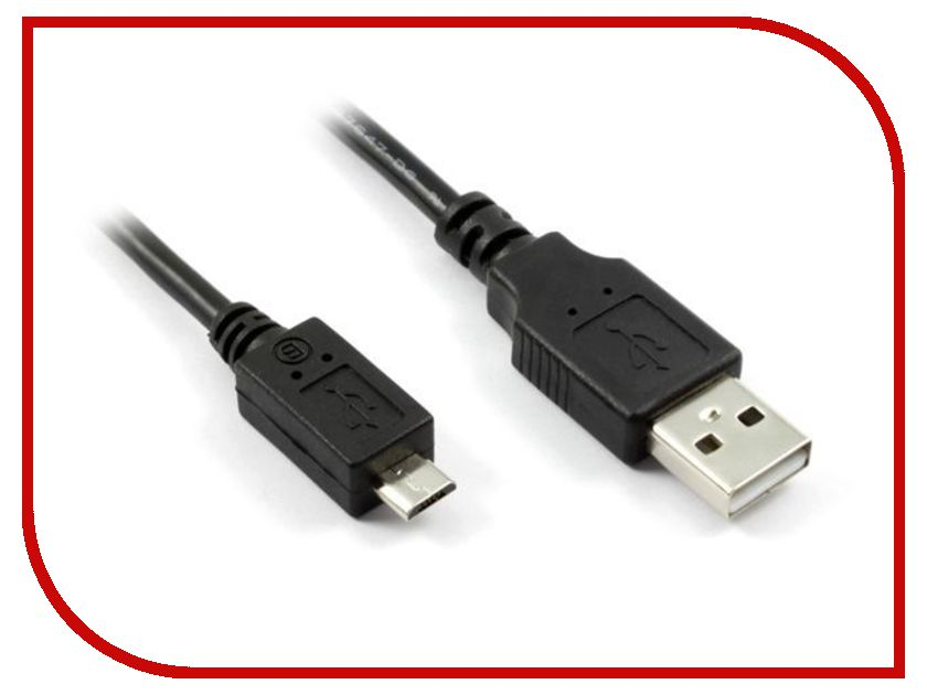 Аксессуар Greenconnect Premium USB 2.0 AM-Micro B 5pin GC-UA2MCB1-3m<br>