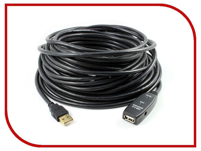 Аксессуар Greenconnect Premium USB 2.0 AM-AF 15m GC-UEC15M2 аксессуар espada usb am af l образный eusb2am aflob eusbamf90