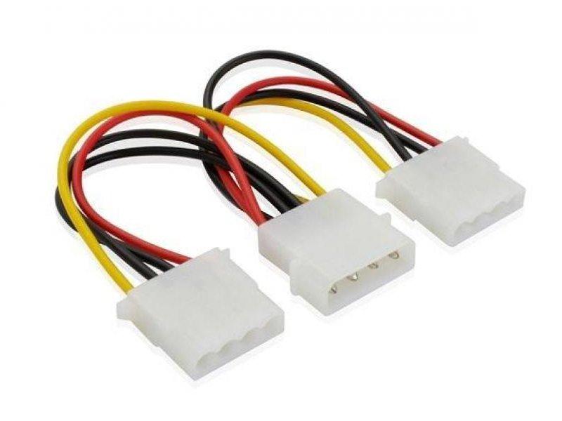 Аксессуар Greenconnect 4pin Molex-2x4pin Molex GC-ST204