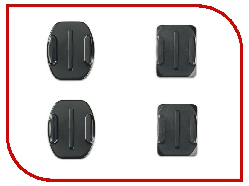 ��������� Lumiix GP10 Flat + Curved Adhesive Mounts for GoPro Hero 3+/3/2/1