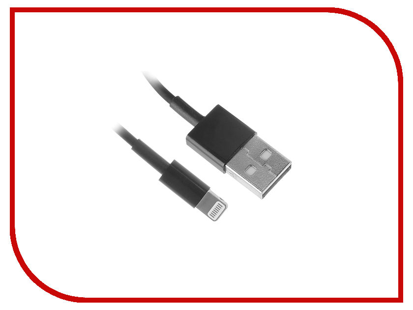 Аксессуар 5bites USB AM-LIGHTNING 8P 1m UC5005-010BK Black<br>