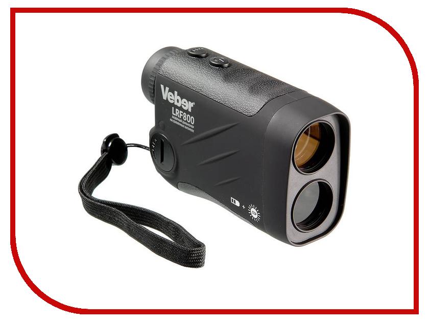 Дальномер Veber 6x25 LRF800 Black дальномер лазерный sturman lrf 2000