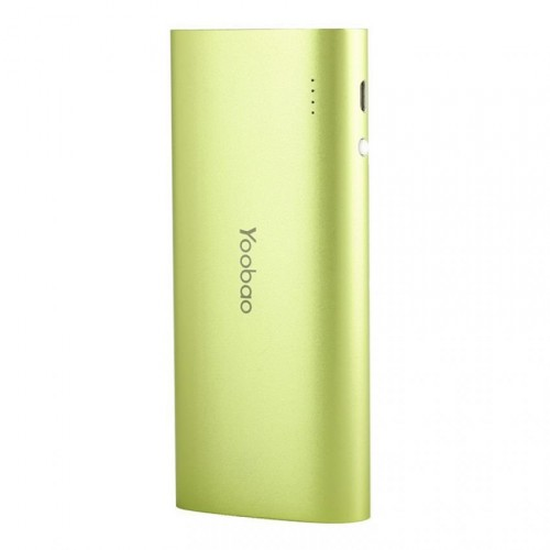 Аккумулятор Yoobao 13000 mAh YB-6016 Green