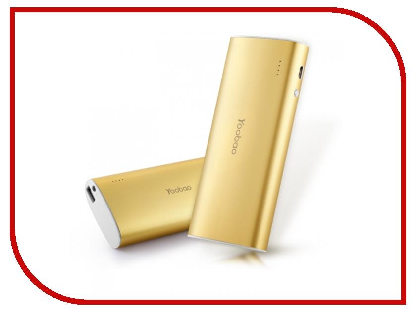 Аккумулятор Yoobao YB-6016 13000mAh Gold аккумулятор yoobao magic cube ii yb 659 13000mah