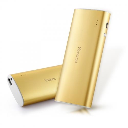 Аккумулятор Yoobao 13000 mAh YB-6016 Gold