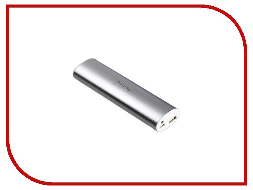 Аккумулятор Yoobao YB-6014 10400mAh Silver аксессуар yoobao usb type c microusb lightning yb 453 gold