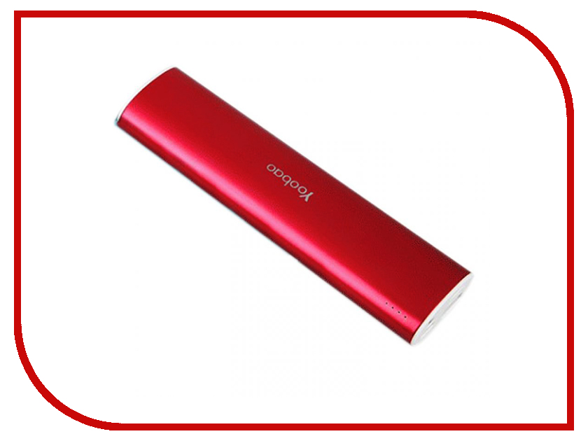 Аккумулятор Yoobao 10400 mAh YB-6014 Red<br>