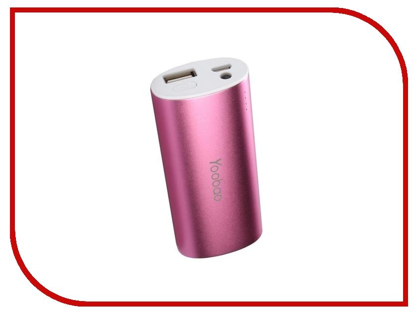 Аккумулятор Yoobao 10400 mAh YB-6014 Pink
