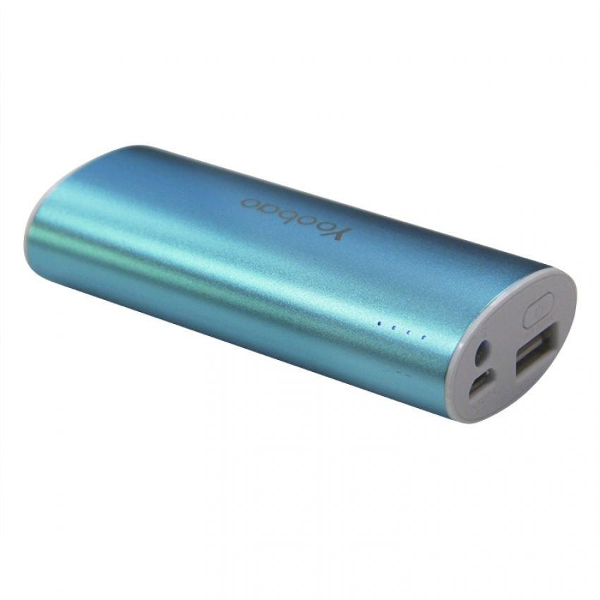 Аккумулятор Yoobao 5200 mAh YB-6012 Blue