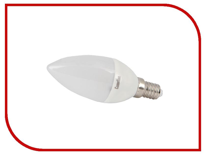 Лампочка Camelion C35 5W 220V E14 LED5-C35-D/830/E14 диммируемая<br>