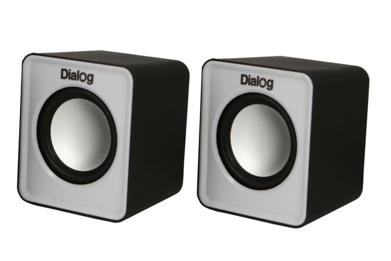 Колонки Dialog Colibri AC-02UP Black-White от Pleer
