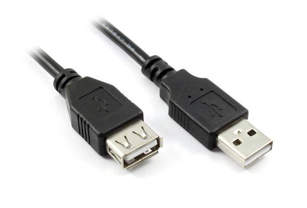 Фото - Аксессуар Dialog USB AM to USB AF V2.0 1.8m HC-A2018 аксессуар