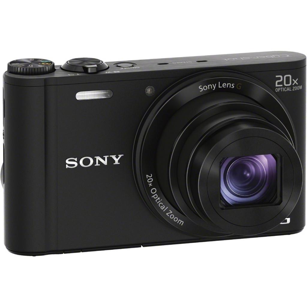 Фотоаппарат Sony DSC-WX350 Cyber-Shot Black цена и фото