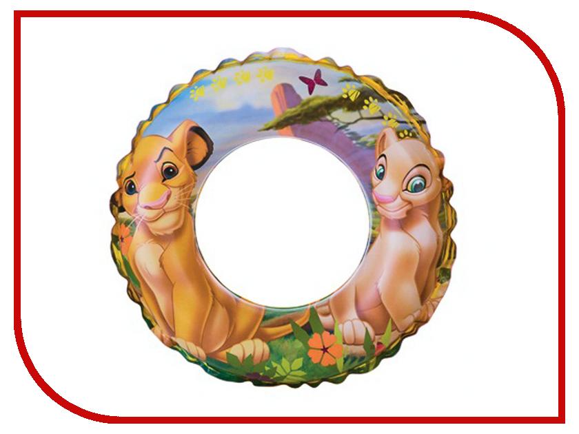 Надувной круг Intex Король Лев 58258