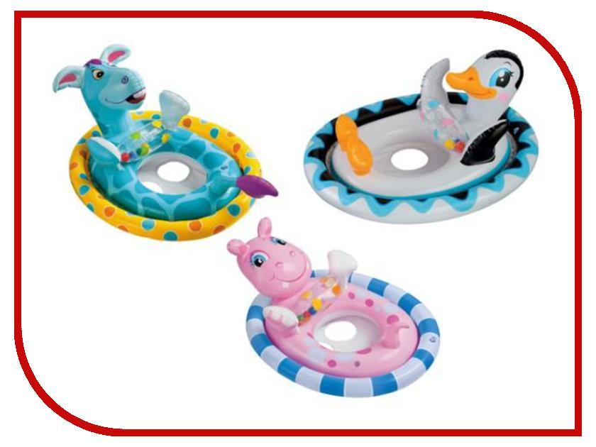 Надувной круг Intex Животные 59570 надувной круг intex животные 59220