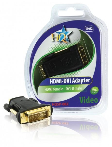 Аксессуар HQ HDMI-DVI 24K HQSP-082