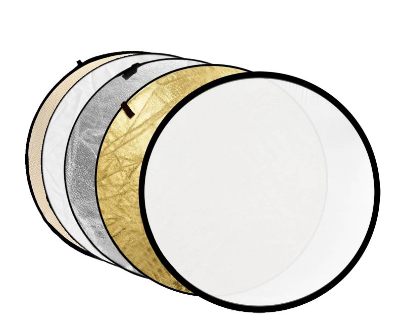 Светоотражатель Fujimi 110cm FJ-702 5-in-1 White/Gold/Silver/Black/Diffuser FJ 702-110 1404