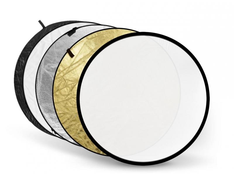 Светоотражатель Fujimi 80cm FJ-702 5 in 1 White/Gold/Silver/Black/Diffuser FJ 702-80 1405