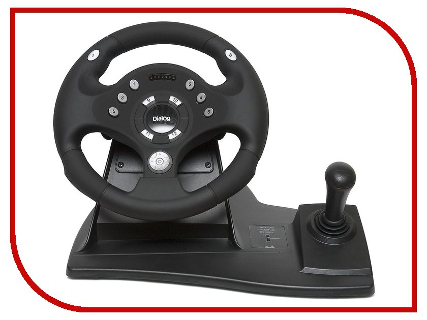 Руль Dialog Rally-Sport GW-11VR от Pleer