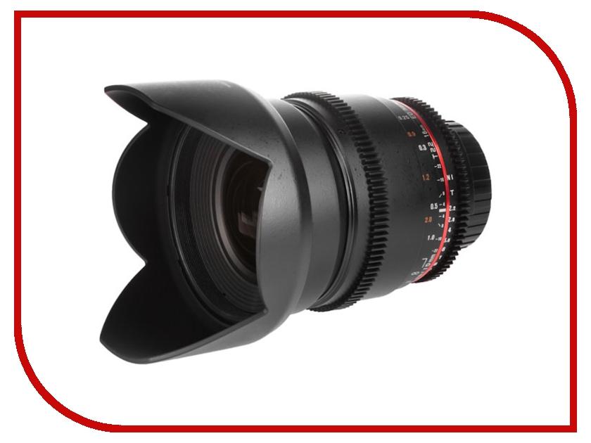 Объектив Samyang Canon MF 16 mm T2.2 ED AS UMC CS VDSLR